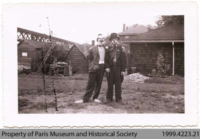 Jim Thompson and Noel Jones, Penmans Clowns, c. 1940s?