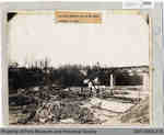 Penmans Dam under Construction, 1918