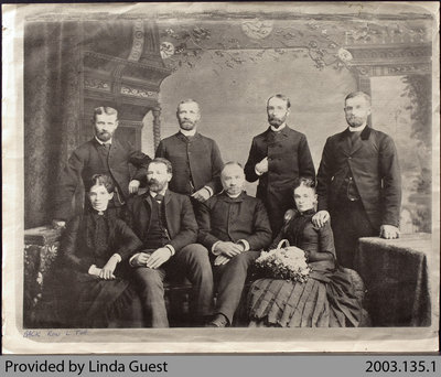 Devlin Family Siblings, c. 1870s
