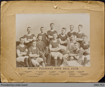 Mount Pleasant Foot Ball Club