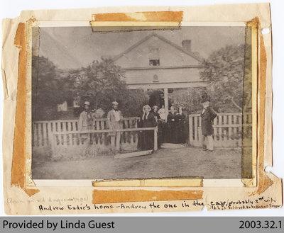 Andrew Eadie Home, c. 1850s