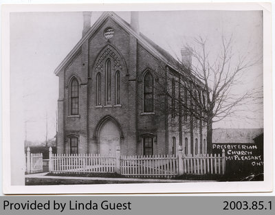Mount Pleasant Presbyterian Church, c. 1915?