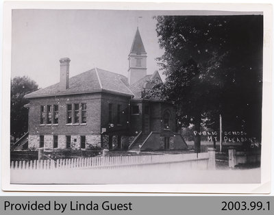 Mount Pleasant Public School / Grammar School, c. early 1900s