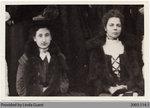 Maude Campbell & Mrs. Geo. Houlding, Mount Pleasant Women's Institute Members, c. 1900