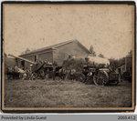 Threshing in Mount Pleasant, c. 1905