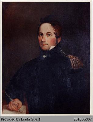 Epaphras Lord Phelps (Onasquesakon), Brant's Secretary