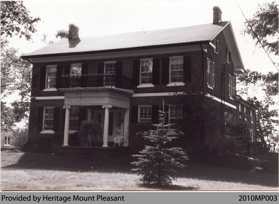 Alvah Townsend House, Mount Pleasant, c. 1998/99