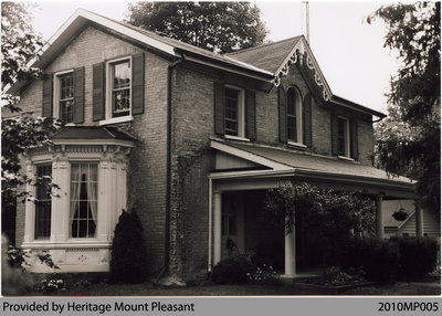 Phelps/McAlister House, Mount Pleasant