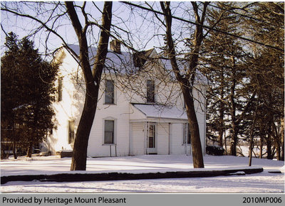 Modern Photograph of Hiram Phelps House, Mount Pleasant, 2004