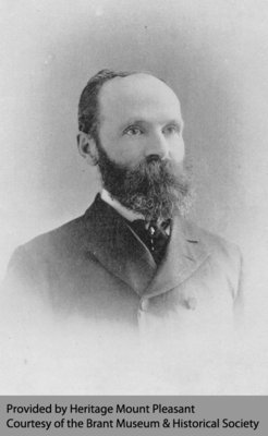 Dr. Duncan Marquis of Mount Pleasant, 1891