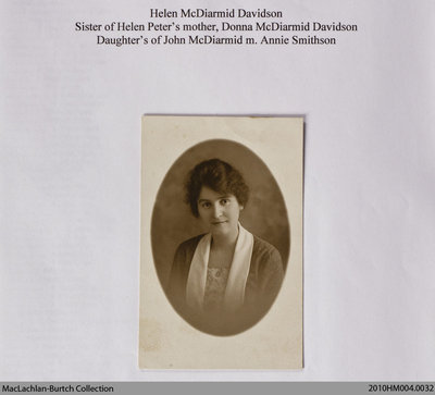 McDiarmid Family History Binder
