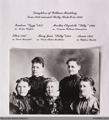 Houlding family history