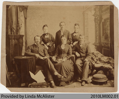 McAlister family members, from Mount Pleasant