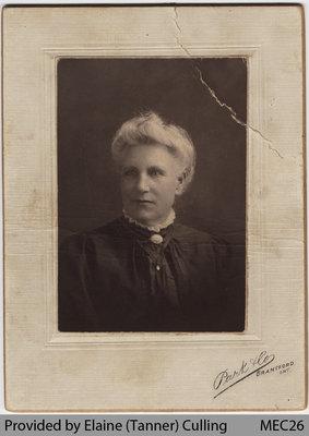 "Mary Ann Kentsbeer, ""Grandma Bowden Tanner"""