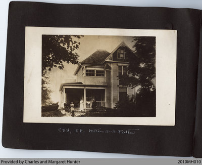 Halliday Residence, corner of Church St. and Talbot St., Scotland, Ontario