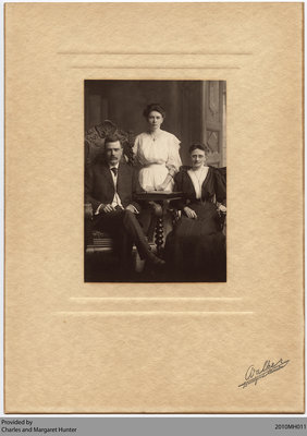 Halliday Family Portrait, Scotland, Ontario