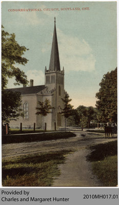 Scotland Congregational Church, Scotland, Ontario