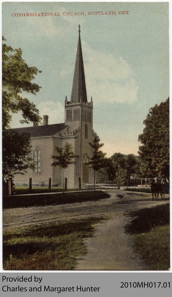 Scotland Congregational Church, Scotland, Ontario