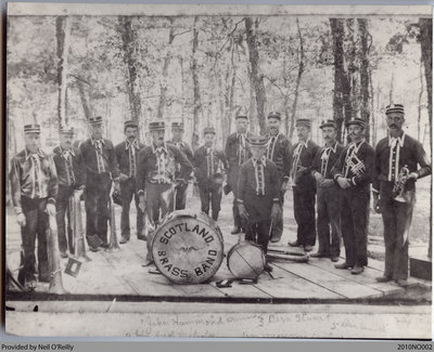 Scotland Brass Band, Scotland, Ontario