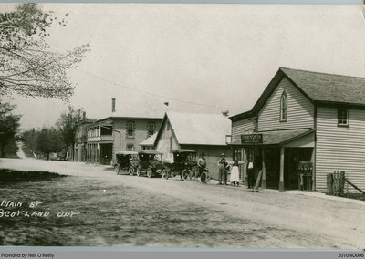 Simcoe St., Scotland, Ontario, c. early 20th century