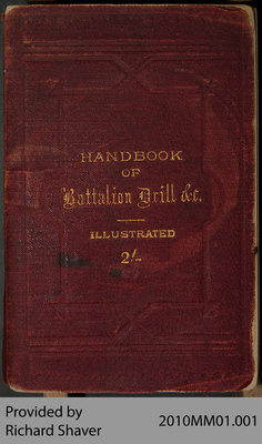 Handbook of Battalion Drill for Militiamen, 1885