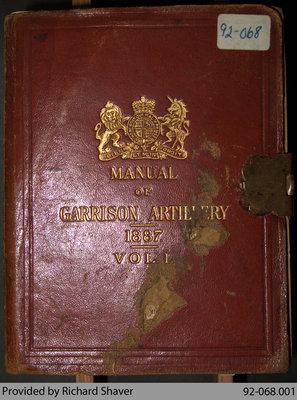 Manual of Garrison Artillery, Vol. 1, 1887