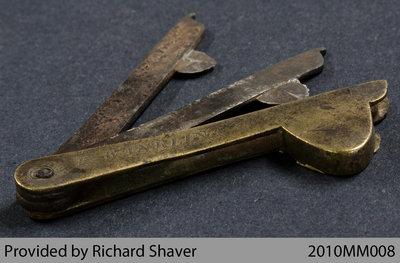 1812-era Blood Letting Instrument