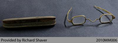 1812-era Soldier's Eyeglasses