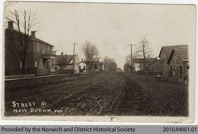New Durham Street Scene, 1919