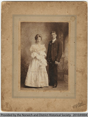 Ethel Lockyer and Robert Penny