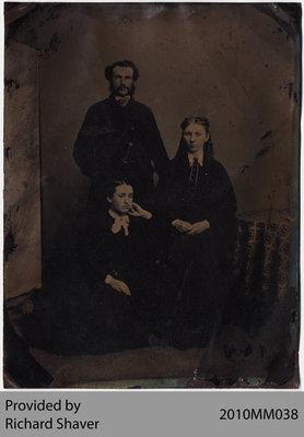 Boughner Family, Scotland, 1865