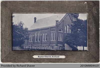 Baptist Church, Scotland, Ontario, 1908