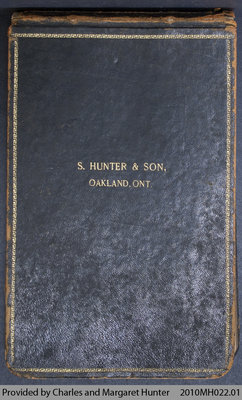 S. Hunter & Son Catalogue Excerpts