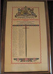 Gypsum Company WW1 Scroll