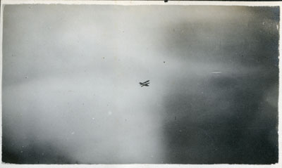 Photo of airplane in the sky