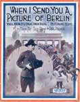 "Sheet music for ""when I send you a picture of Berlin"""