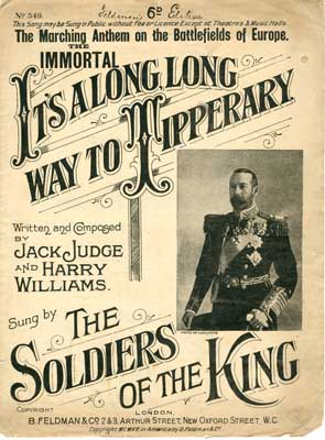 """Sheet Music """"Its a long way to Tipperary"""""""