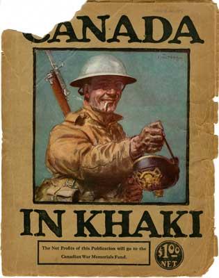 """Book """"Canada in Khaki"""""""