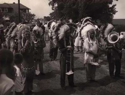 First Nations at the Battle of the Forty Ceremony- June 8, 1955