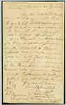 Assistant Surgeon Appointment: Letter from Dr Robert Kerr to Dr Cyrus Sumner- July 22, 1814