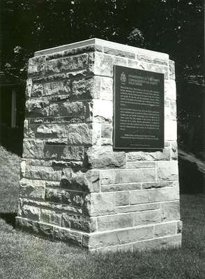 Commemorative Monument  for the Engagement at Forty Mile Creek, June 8th, 1813