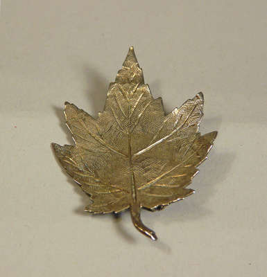 Loyal Canadian Society Silver Pin