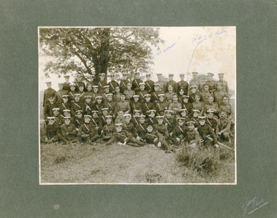 37th Battalion Officers Camp