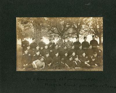 31st Haldimand Rifles, Niagara Camp June 14 to 23, 1904