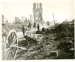 Ruins of buildings at Ypres