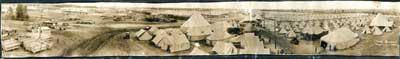 Photo of Camp Borden, 1916