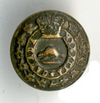 Canadian Militia uniform button