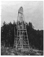 Fire Tower at Bissett Creek