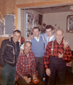 Chartrand Family Christmas (early 1960s)