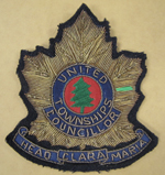 Badge Worn by The Reeve for Head, Clara and Maria c.1969-1970
